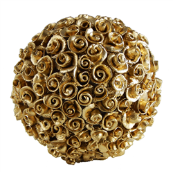Palla con Rose di pane - oro - Elba Bag Seska