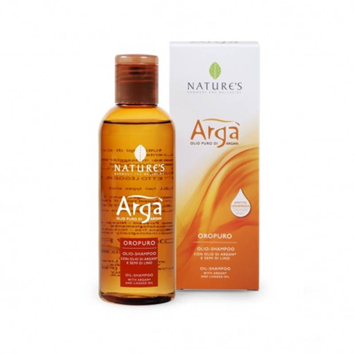 Argà - Olio shampoo - 200 ml - Nature's