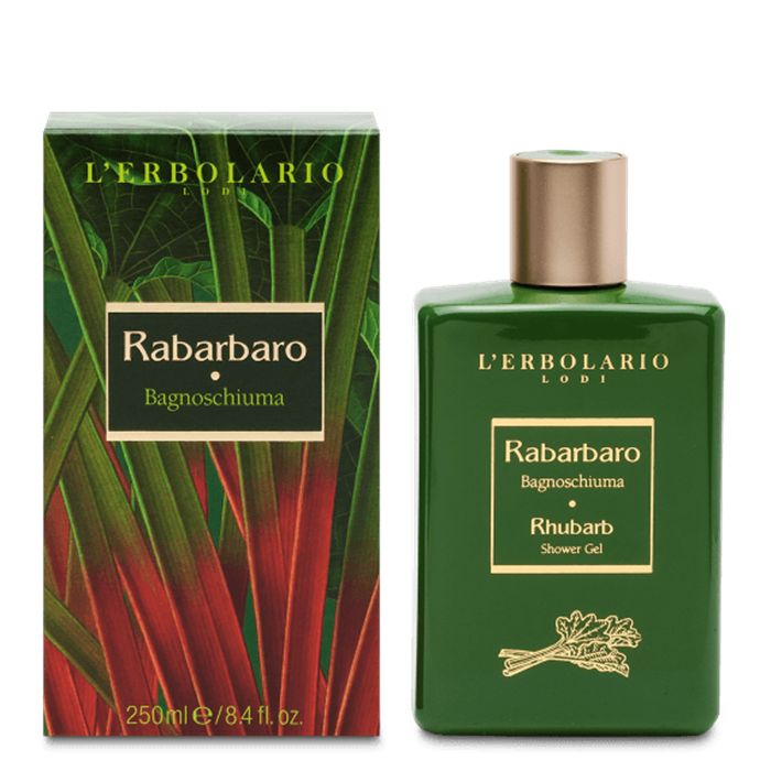 Bagnoschiuma  Rabarbaro 250 ml - L' Erbolario
