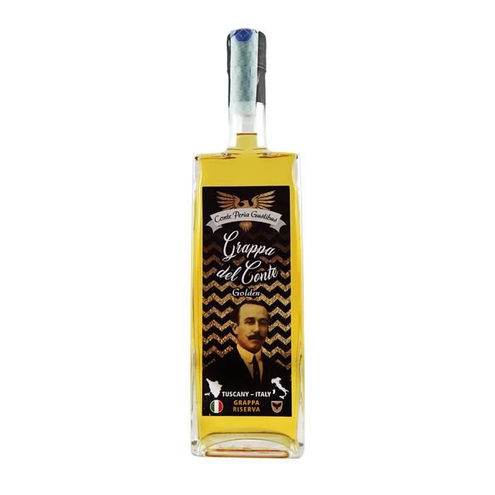 Grappa del Conte Golden