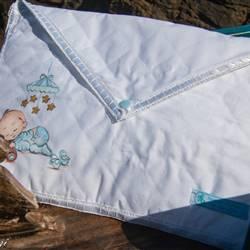 Busta porta nécessaire Baby Dipinta a Mano. Personalizzabile con il nome del tuo bambino